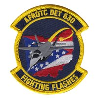 AFROTC DET 630 Fighting Flashes Patch