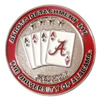 AFROTC Det 010 University of Alabama Challenge Coin