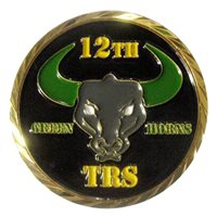 12 TRS Coin Challenge Coin