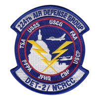 224 ADG, Det 2 NCRCC Patch