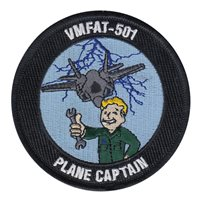 VMFAT-501 Warlords Plane Captain Patch