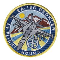390 ECS 69 Flight Hours Patch