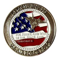 AFROTC Det 585 Duke University Challenge Coin