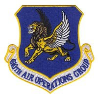 610 AOG Shield Patch