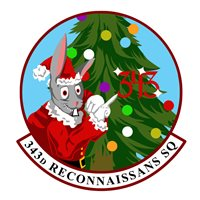 343 RS Christmas Patch