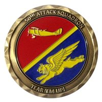 50 ATKS Commander Challenge Coin