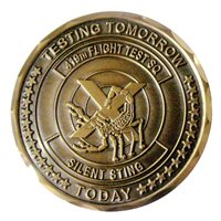 419 FLTS Bomber CTF Challenge Coin