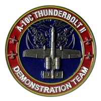 A-10 Demo Team Challenge Coin
