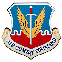 Air Combat Command Custom Wall Plaque