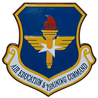 Air Education and Training Command Custom Wall Plaque