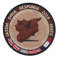 609 CAOC Syria Operation Allied Strike 2018 Patch