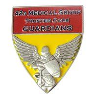 42 MDG Shield Challenge Coin
