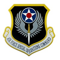 AFSOC Custom Wall Plaque