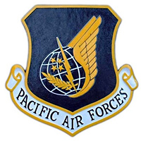 PACAF Custom Wall Plaque
