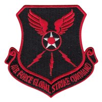 12 MS AFGSC Red Patch