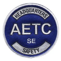 HQ AETC Safety Flight Patch