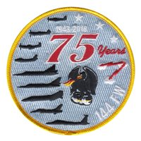 144 FW 75th Anniversary Patch