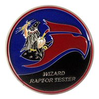 411 FLTS F-22 Raptor CTF Challenge Coin