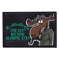 321 MS 2018 Olympic Step Patch
