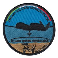 DAAA Global Hawk NATO AGS Programme Patch