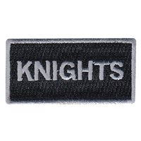 325 OSS Knights Pencil Patch