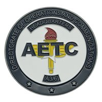 HQ AETC A3/6 Challenge Coin