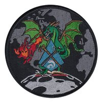 AFRL Dragon Patch with Black Border