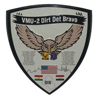 VMU-2 Deployment Plaque