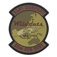 Easy Co 52 AVN REGT Wildcats PVC Patch