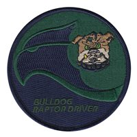 525 FS Bulldog Raptor Driver Subdued Patch