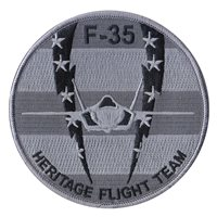 F-35 Heritage Flight Team Gray Patch
