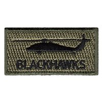 Blackhawks Pencil Patch