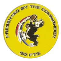 90 FTS Commander Challenge Coin