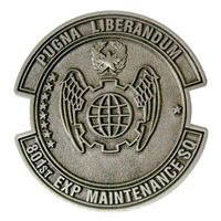 801 AMXS Commander Challenge Coin