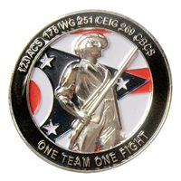 178 WG Chief Challenge Coin
