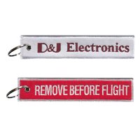 D and J Electronics Remove Before Flight Key Flag