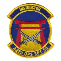 432 OSS Instructor Patch