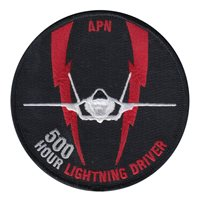 56 TRS APN 500 Hour Lightning Driver Patch
