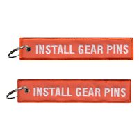 Texas Jet Install Gear Pins Key Flag