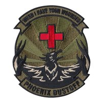 G Co 2-238 AVN Det 2 Red Cross Patch