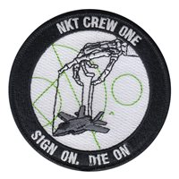 USMC ATC NKT Crew One Patch