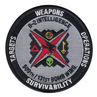 131 BW B-2 Intelligence Gray Patch