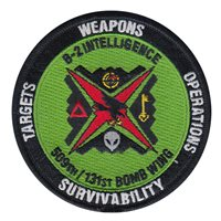 131 BW B-2 Intelligence Green Patch