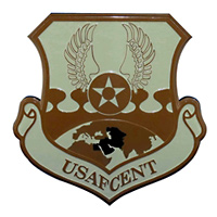 United States Air Forces Central Custom Wall Plaque