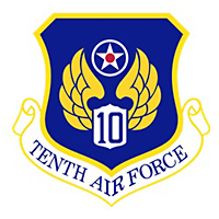 10th Air Force Plaque