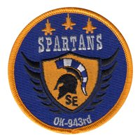 AFJROTC OK-943 SEHS Spartans Patch