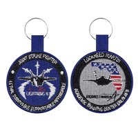LM F-35 Academic Training Center Eglin AFB Keychain