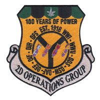 2 OG 100 Years Anniversary Patch