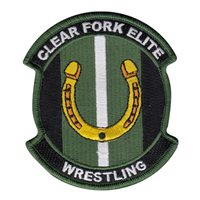Clear Fork Elite Wrestling Patch