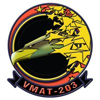 VMAT-203 AV-8B Custom Airplane Model